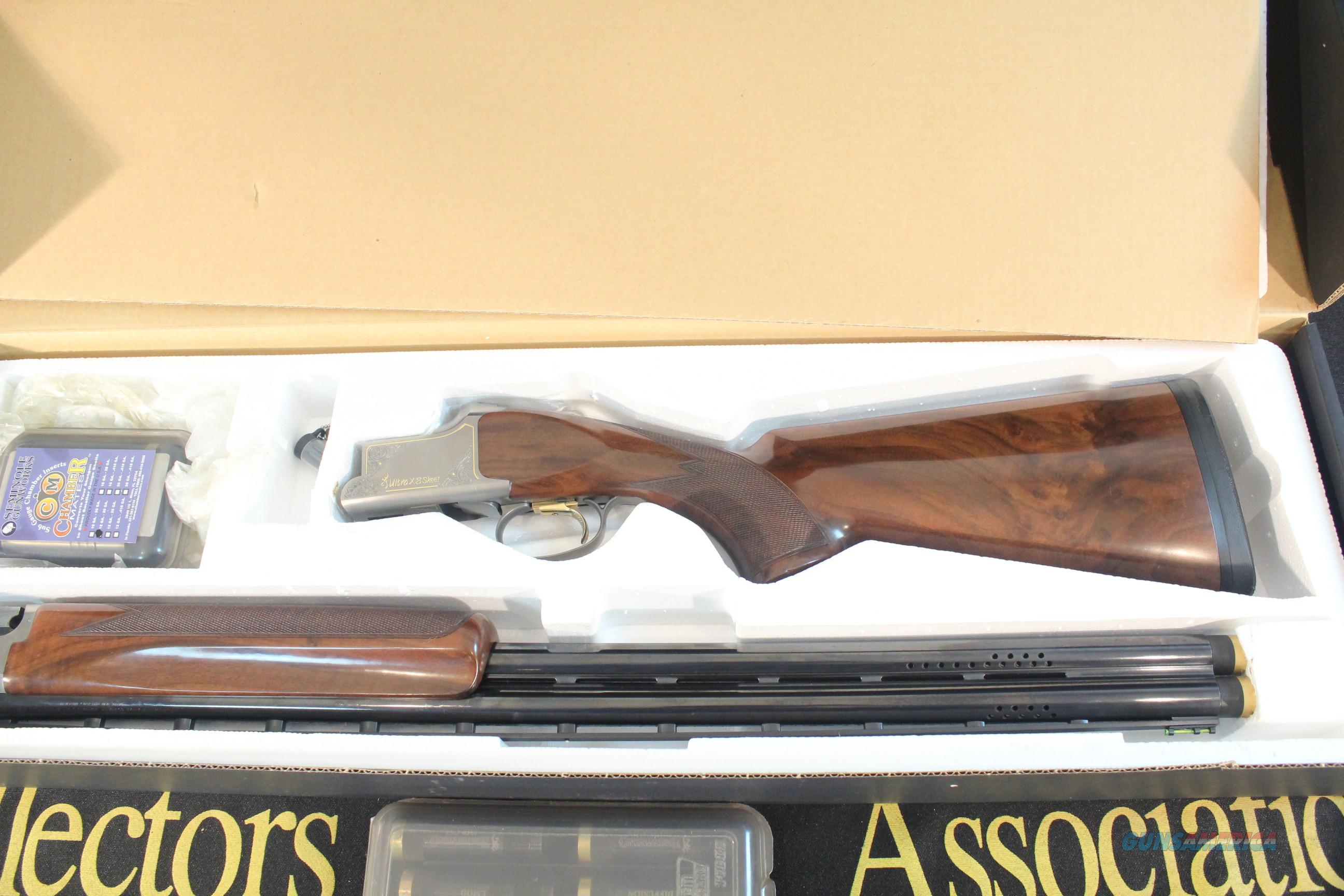 Browning Ultra XZ Skeet 12 Gauge with 20 Gauge inserts  Guns > Shotguns > Browning Shotguns > Over Unders > Citori > Trap/Skeet