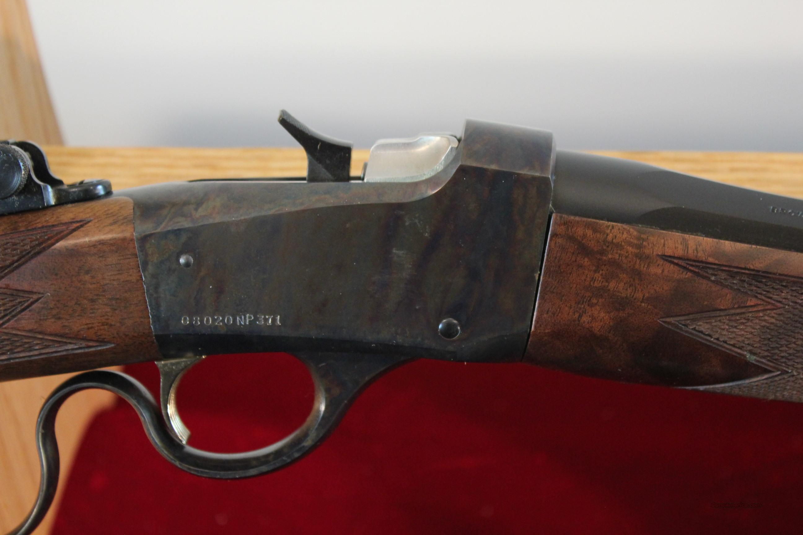 Browning Model 1885 Lever Low Wall in .44 Mag.  Guns > Rifles > Browning Rifles > Lever Action