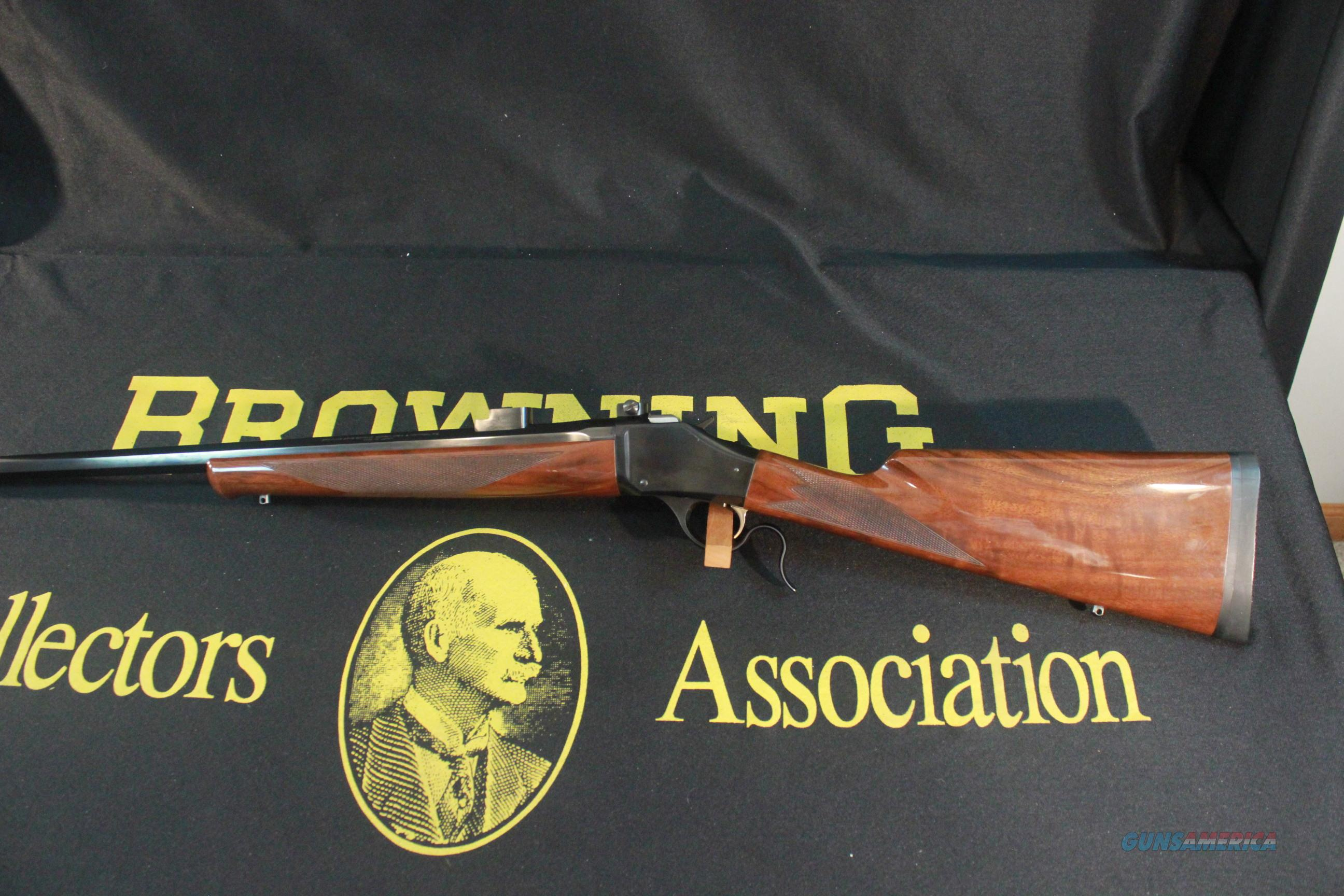 "Browning Model 1885 in .223 Rem (5.56 Nato), with 28"" Octagonal barrel  Guns > Rifles > Browning Rifles > Lever Action"