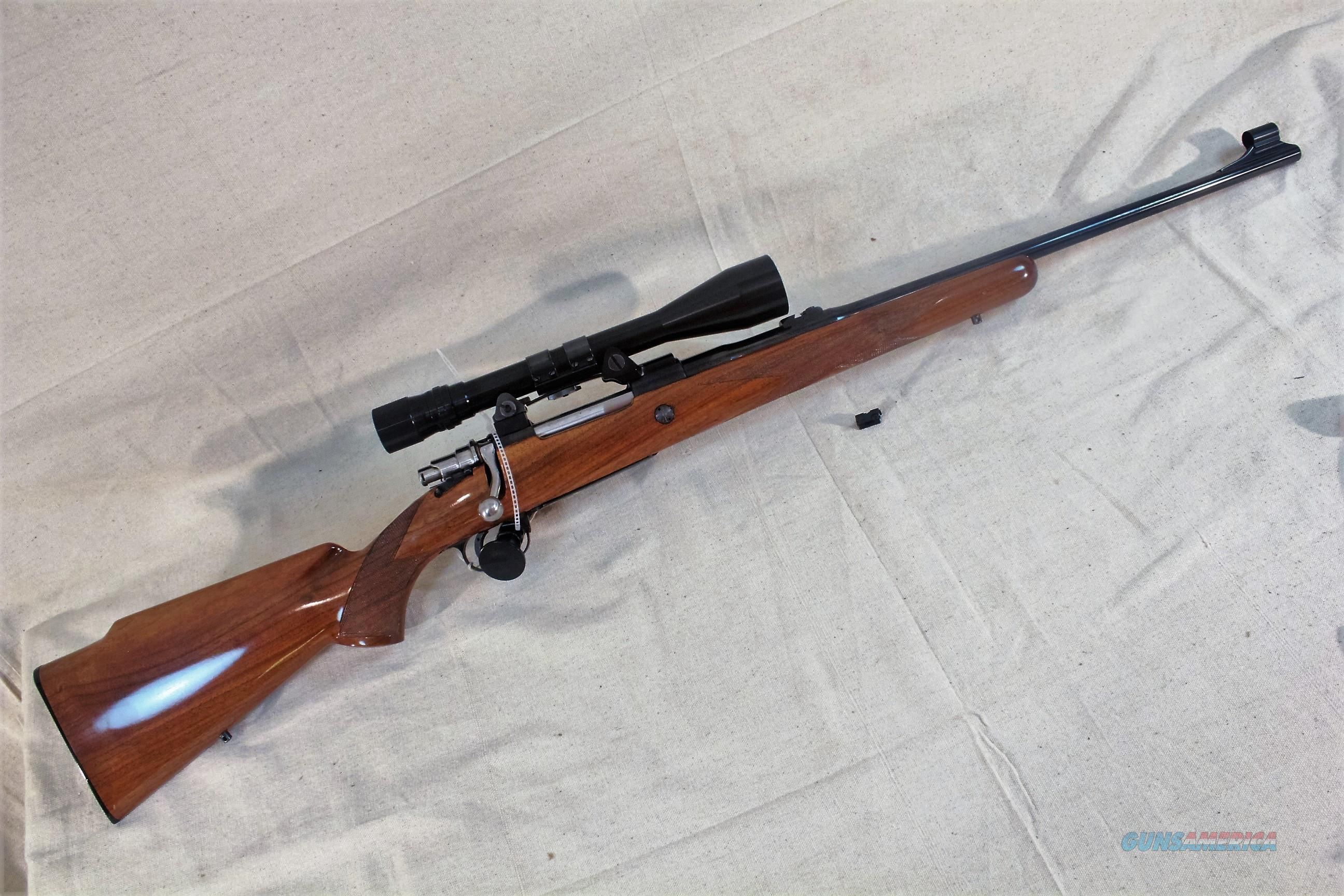 Browning Belgium Safari .30-06 rifle with 2.5x8 Bausch & Lomb scope with tapered crosshairs  Guns > Rifles > Browning Rifles > Bolt Action > Hunting > Blue