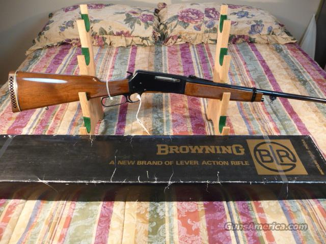 Early Browning BLR .358 Japanese  Guns > Rifles > Browning Rifles > Lever Action