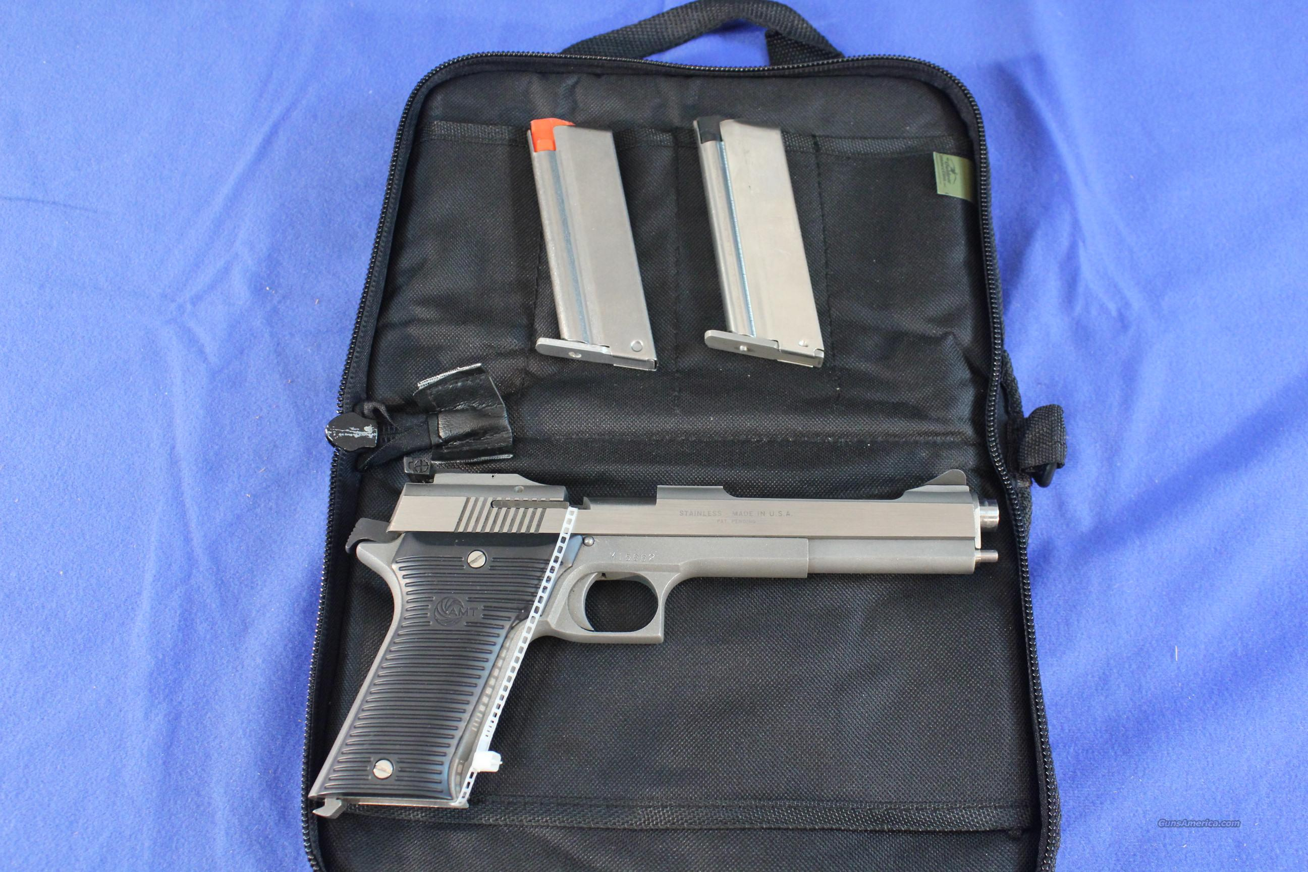 "AMT Automag .22 Magnum 6"" stainless  Guns > Pistols > Auto Mag Pistols"