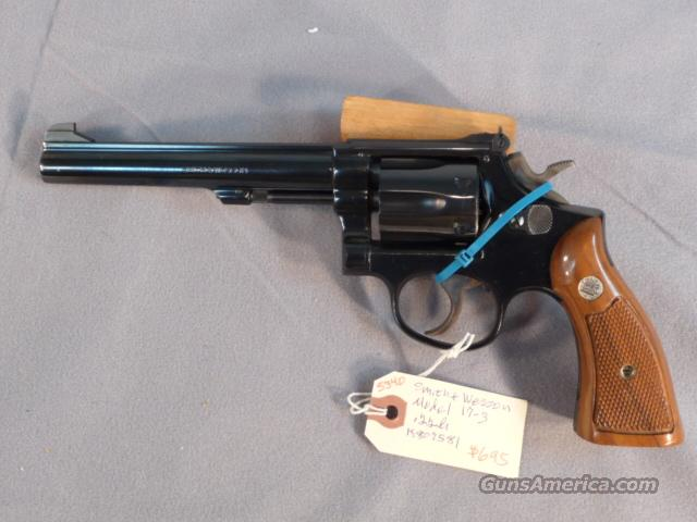 "Smith & Wesson Model 17-3 6"" Blue  Guns > Pistols > Smith & Wesson Revolvers > Full Frame Revolver"