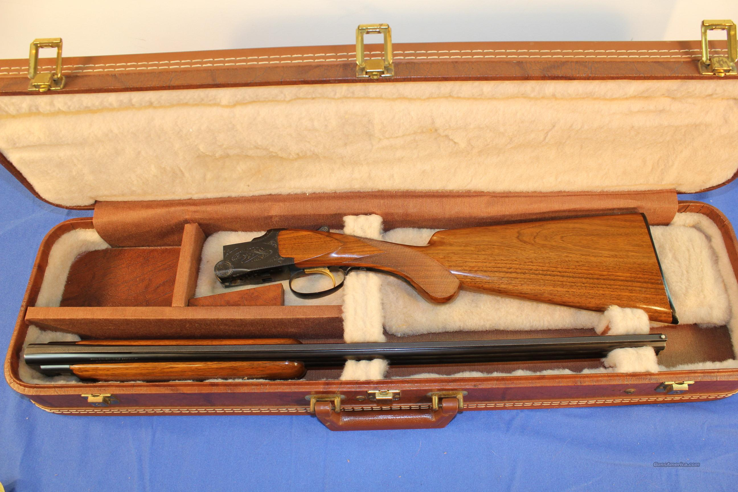 Browning 20 Gauge Grade I Belgium 1965  Guns > Shotguns > Browning Shotguns > Over Unders > Belgian Manufacture