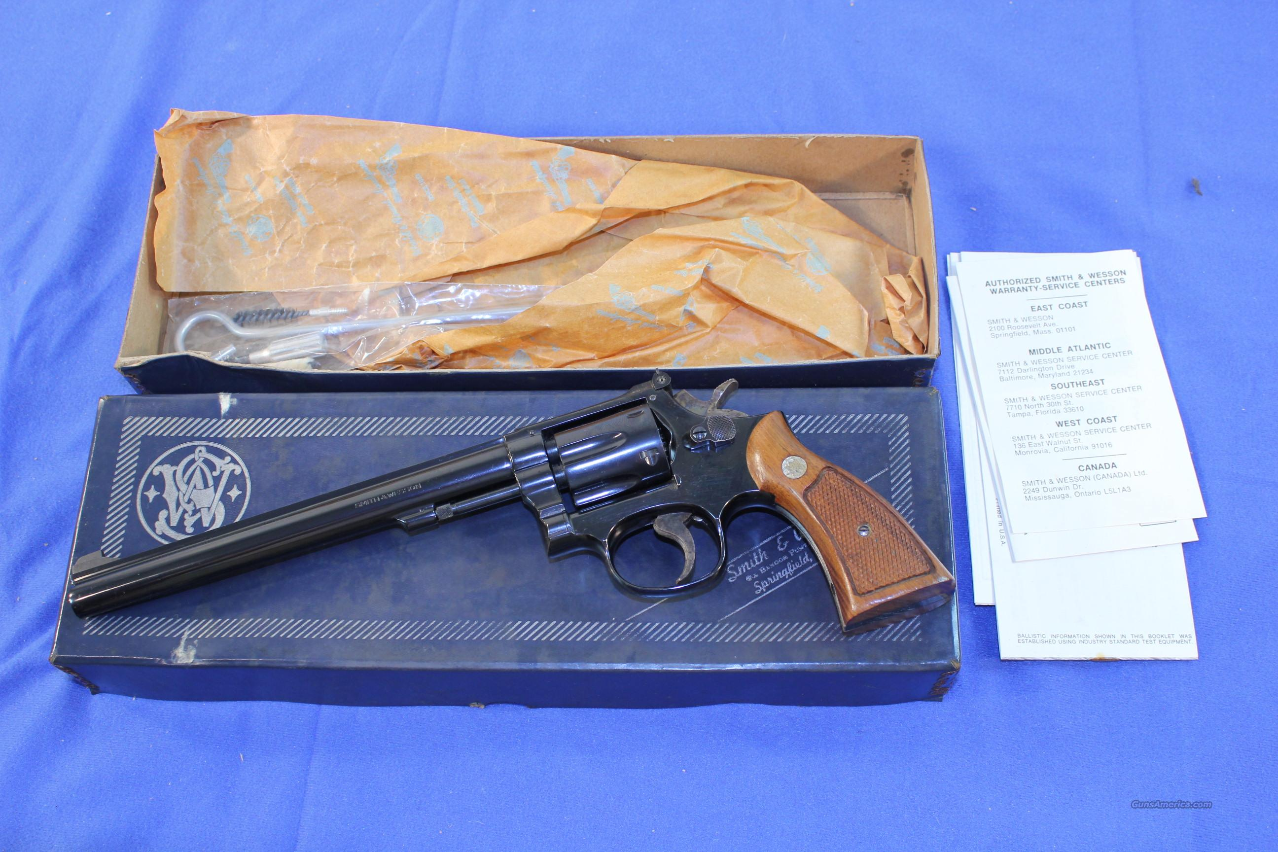"Smith & Wesson Model 48-3 .22 Magnum, 8-3/8"" barrel boxed  Guns > Pistols > Smith & Wesson Revolvers > Full Frame Revolver"