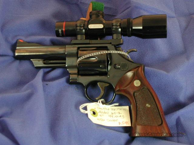 Smith & Wesson Model 29-2 w/scope  Guns > Pistols > Smith & Wesson Revolvers > Full Frame Revolver