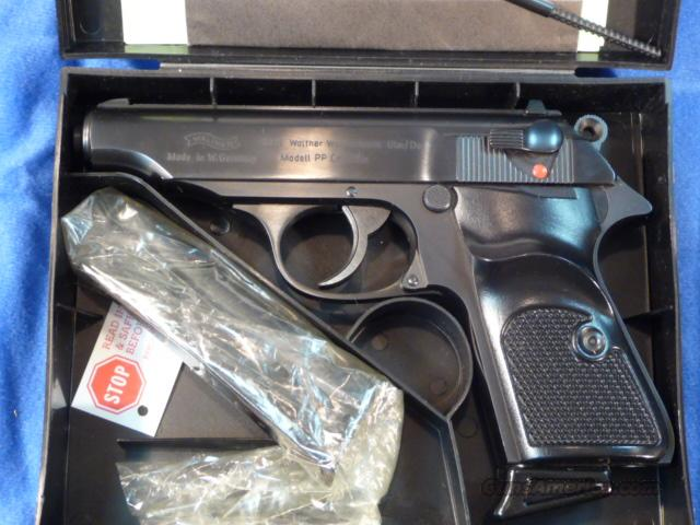 German Walther PP .22, Like New in Box  Guns > Pistols > Walther Pistols > Post WWII > PP Series