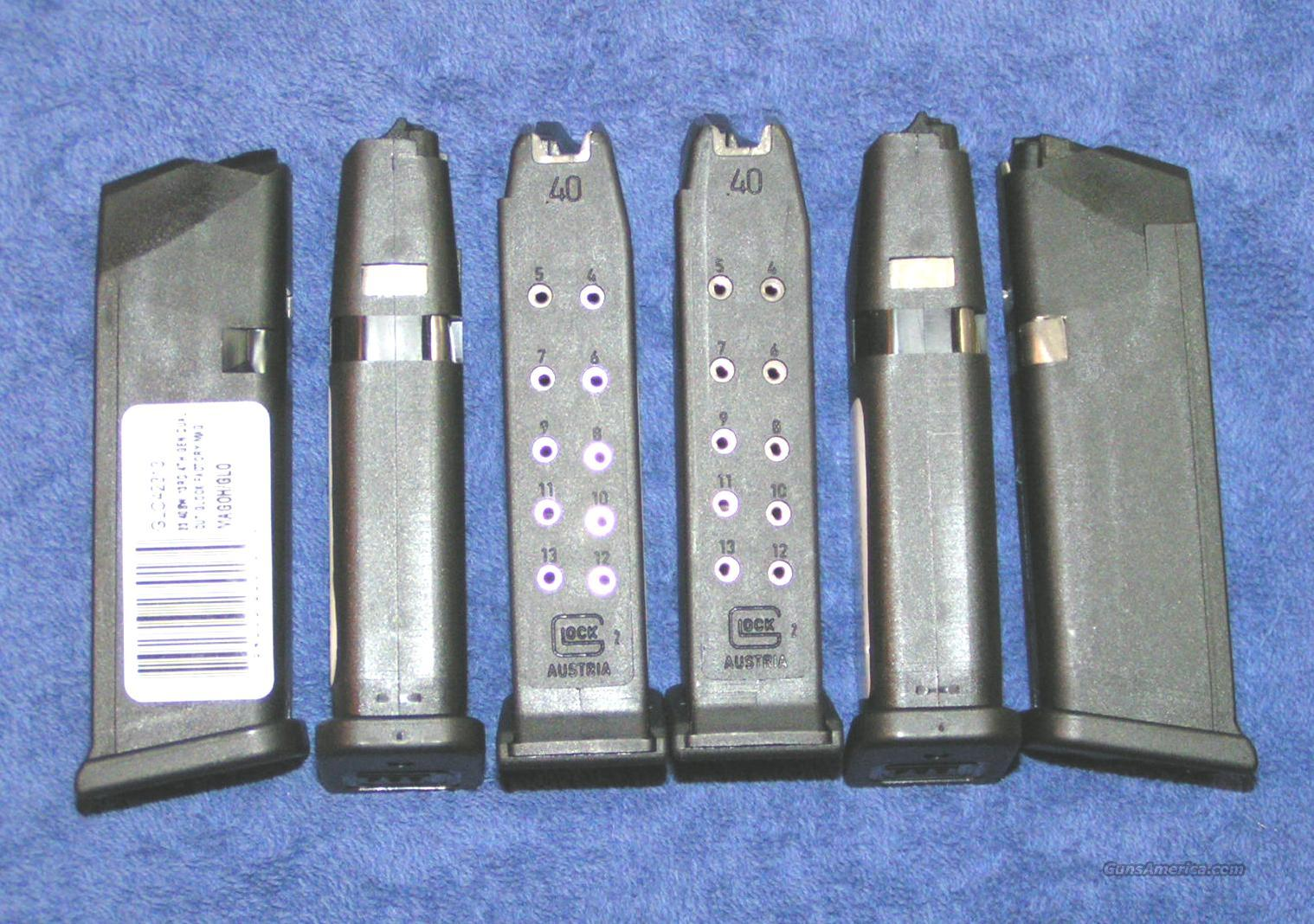 6 Glock 23 mags. NEW factory drop free $25 each  Non-Guns > Magazines & Clips > Pistol Magazines > Glock