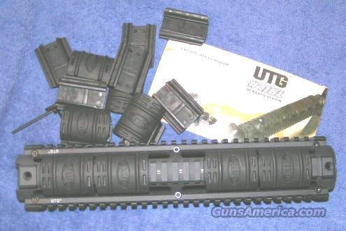 AR15 4 rail handguard system UTG rifle length quad rail  Non-Guns > Gun Parts > M16-AR15
