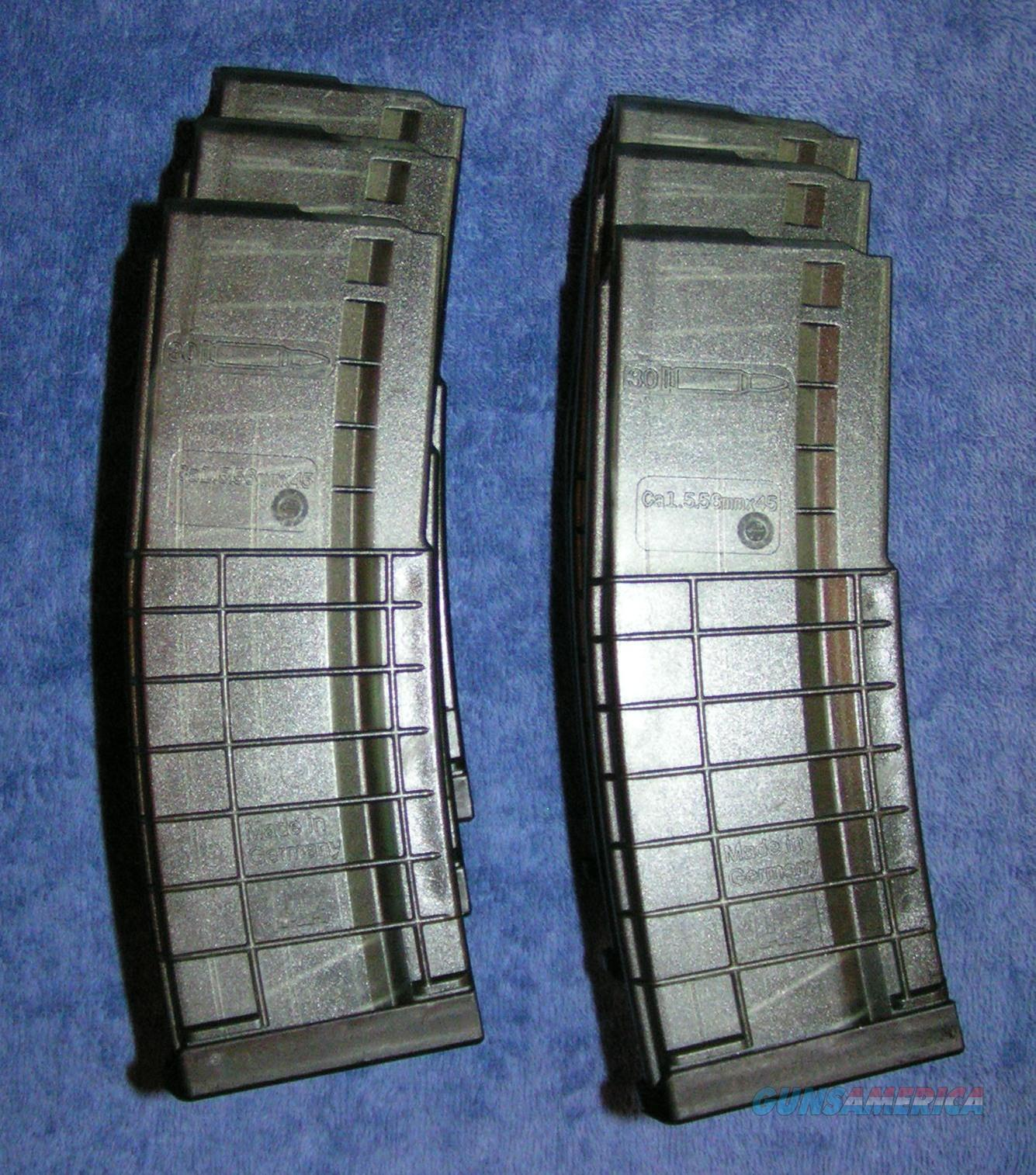 6 AR15 mags H&K HK 30 round polymer. NEW $25 each  Non-Guns > Magazines & Clips > Rifle Magazines > AR-15 Type