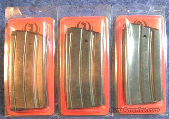 3 Ruger mini 14 mag factory 20 round NEW $31 each  Non-Guns > Magazines & Clips > Rifle Magazines > Mini 14