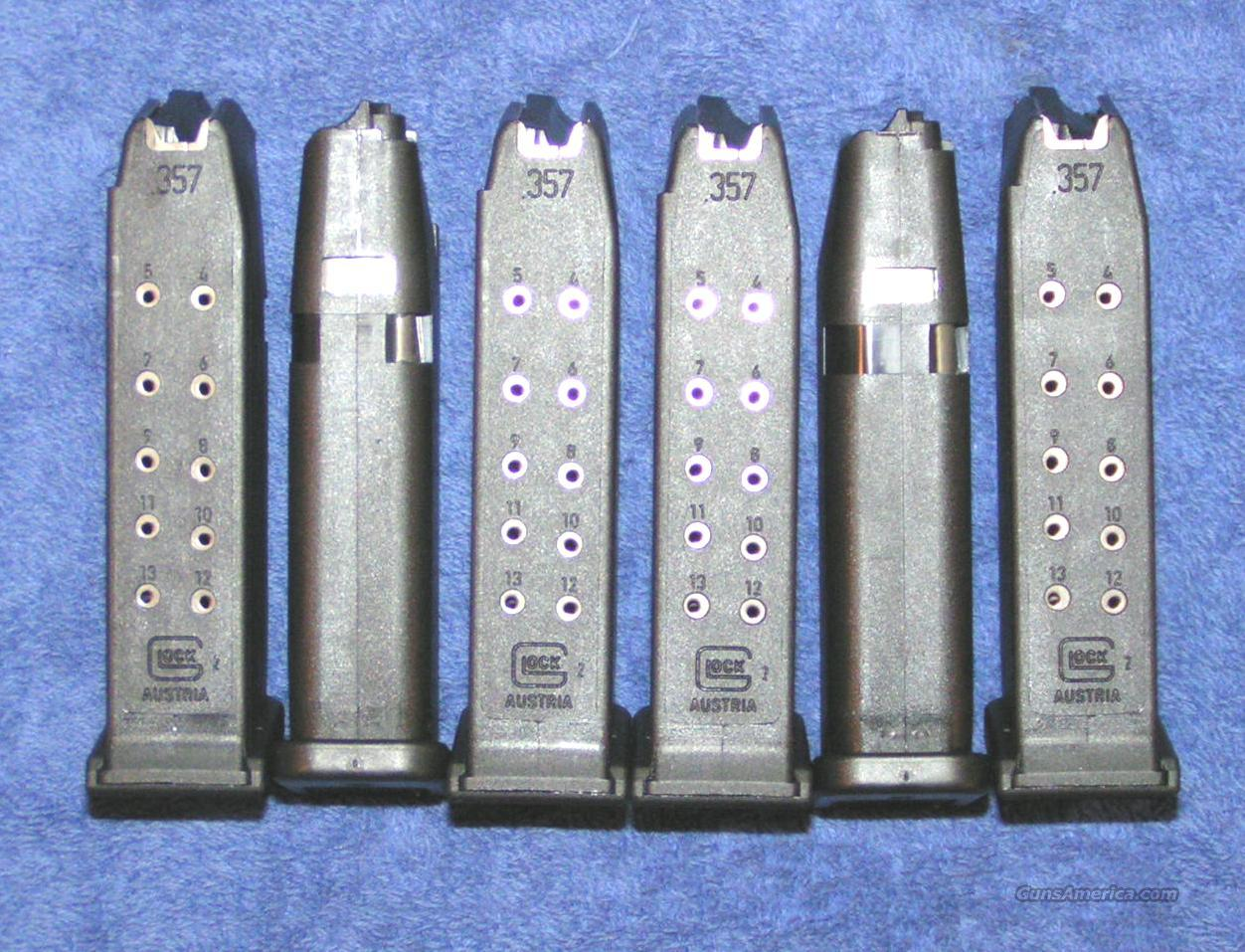 6 Glock 27 mags. factory 40S&W 9 round $25 each  Non-Guns > Magazines & Clips > Pistol Magazines > Sig