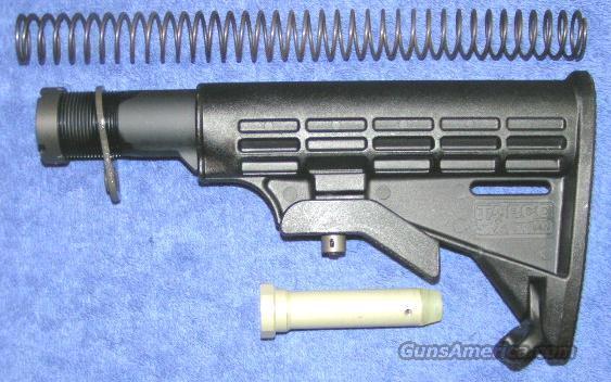 AR15 M4 stock Tapco T-6 Intrafuse black in stock now  Non-Guns > Gun Parts > M16-AR15