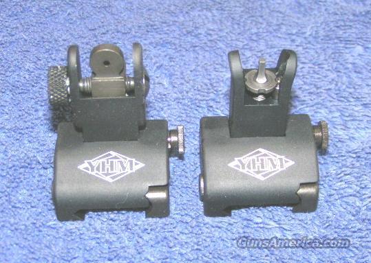 flip up sights NEW. QDS BUIS YHM-5040  Non-Guns > Gun Parts > M16-AR15
