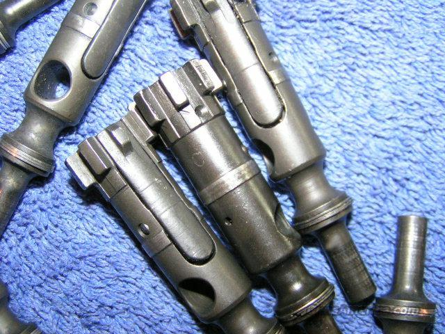 AR15 bolt - Colt - MP or MPC marked, M16 bolt light use  Non-Guns > Gun Parts > M16-AR15