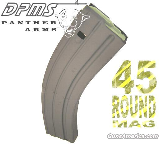 AR15 45 round mag DPMS MA-45 heat treated   Non-Guns > Magazines & Clips