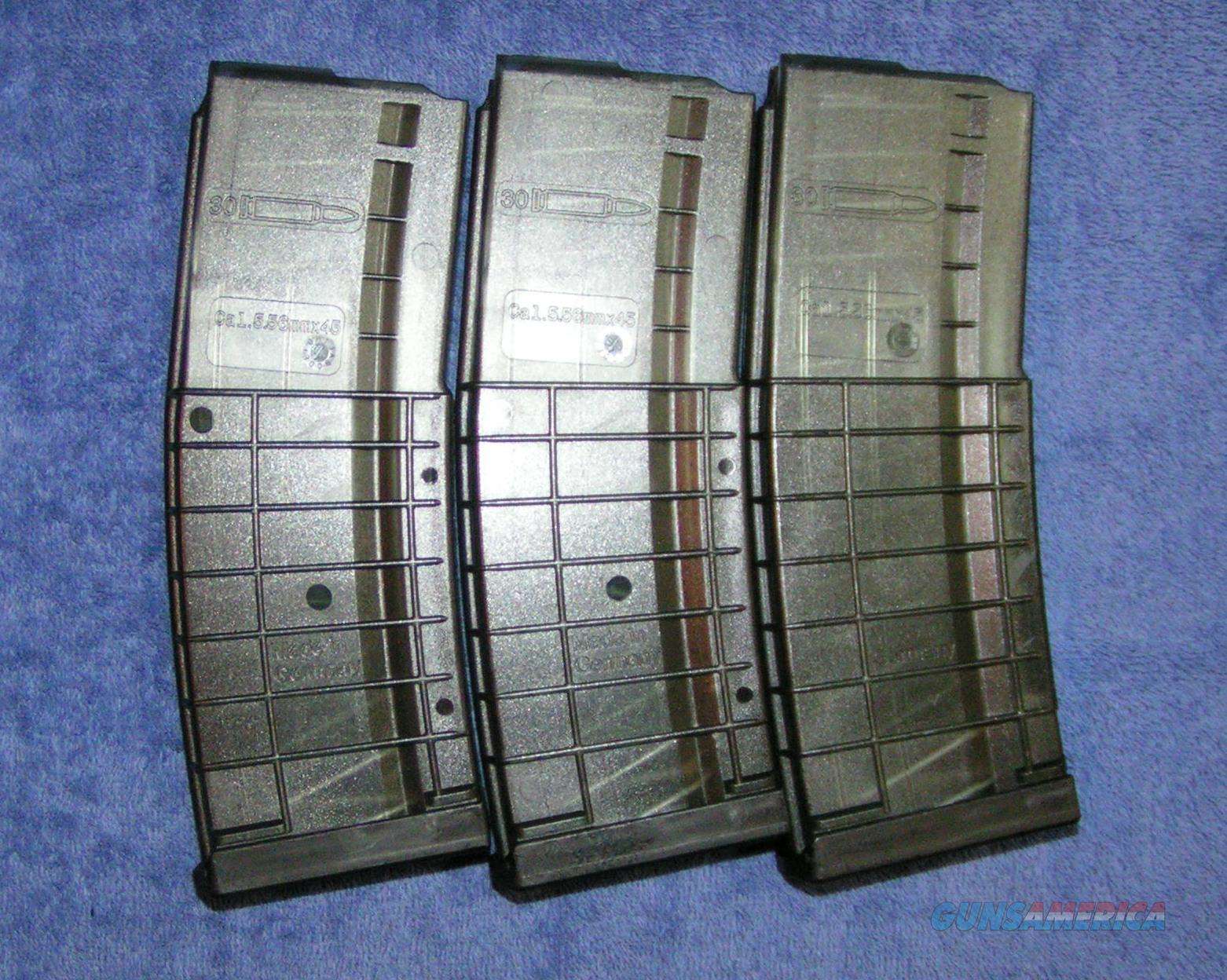 3 AR15 mags H&K HK 30 round polymer. NEW $19 each  Non-Guns > Magazines & Clips > Rifle Magazines > AR-15 Type