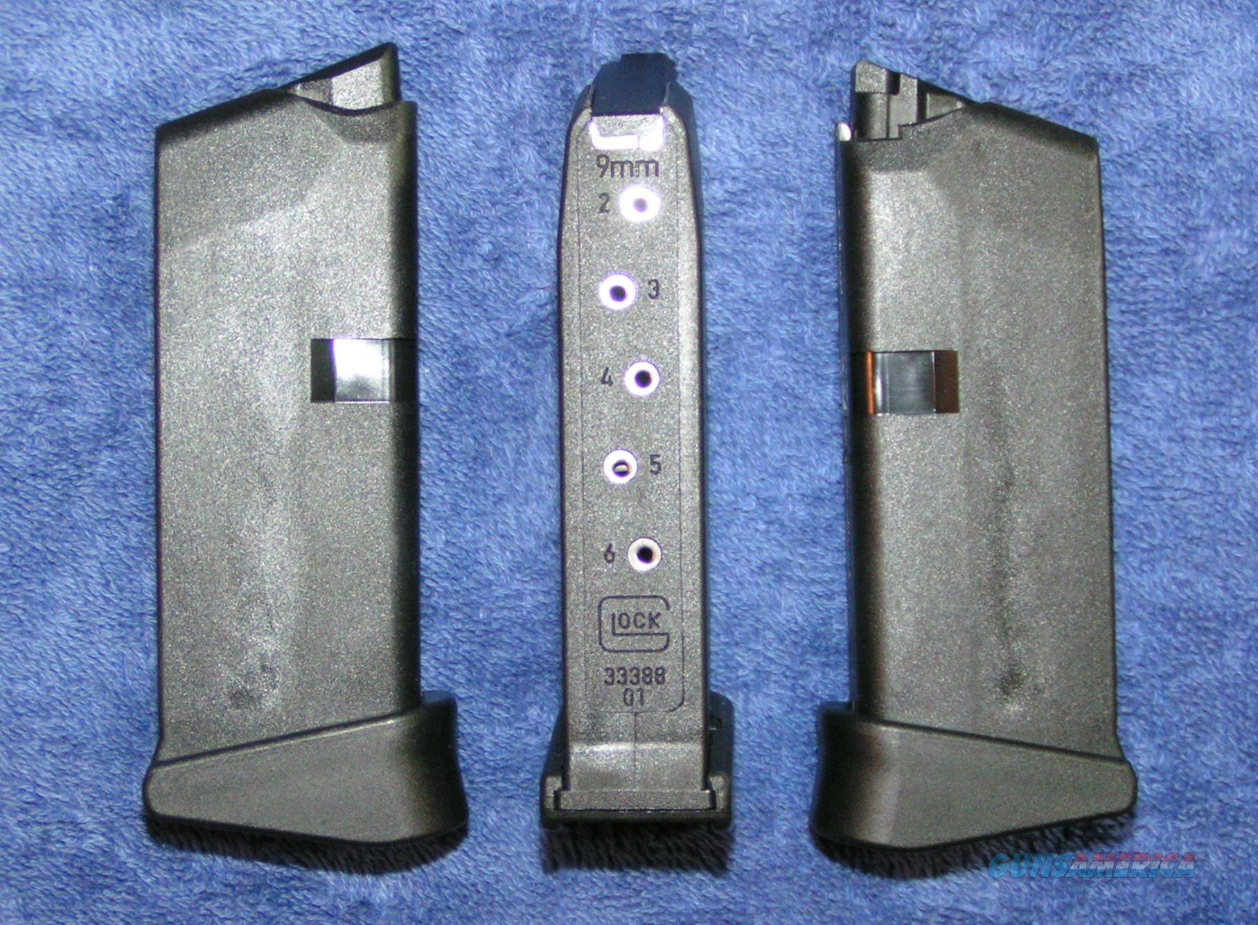 Glock 43 mag 9mm 6 round with Extension Gen 4 new $37   Non-Guns > Magazines & Clips > Pistol Magazines > Glock