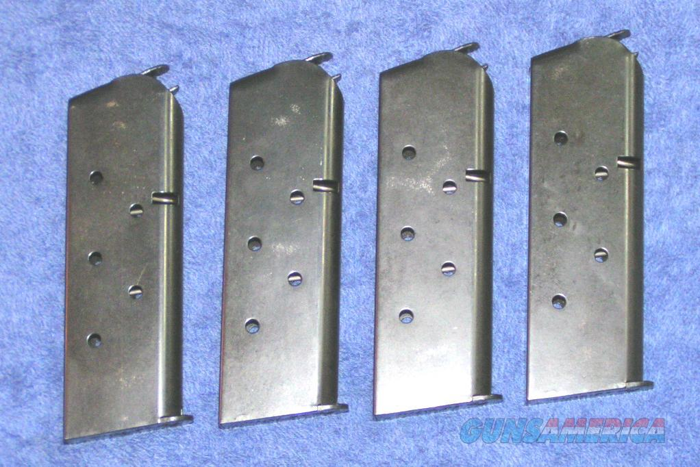 4 Colt officers mags 6 rd blue factory $34 each  Non-Guns > Magazines & Clips > Pistol Magazines > Other