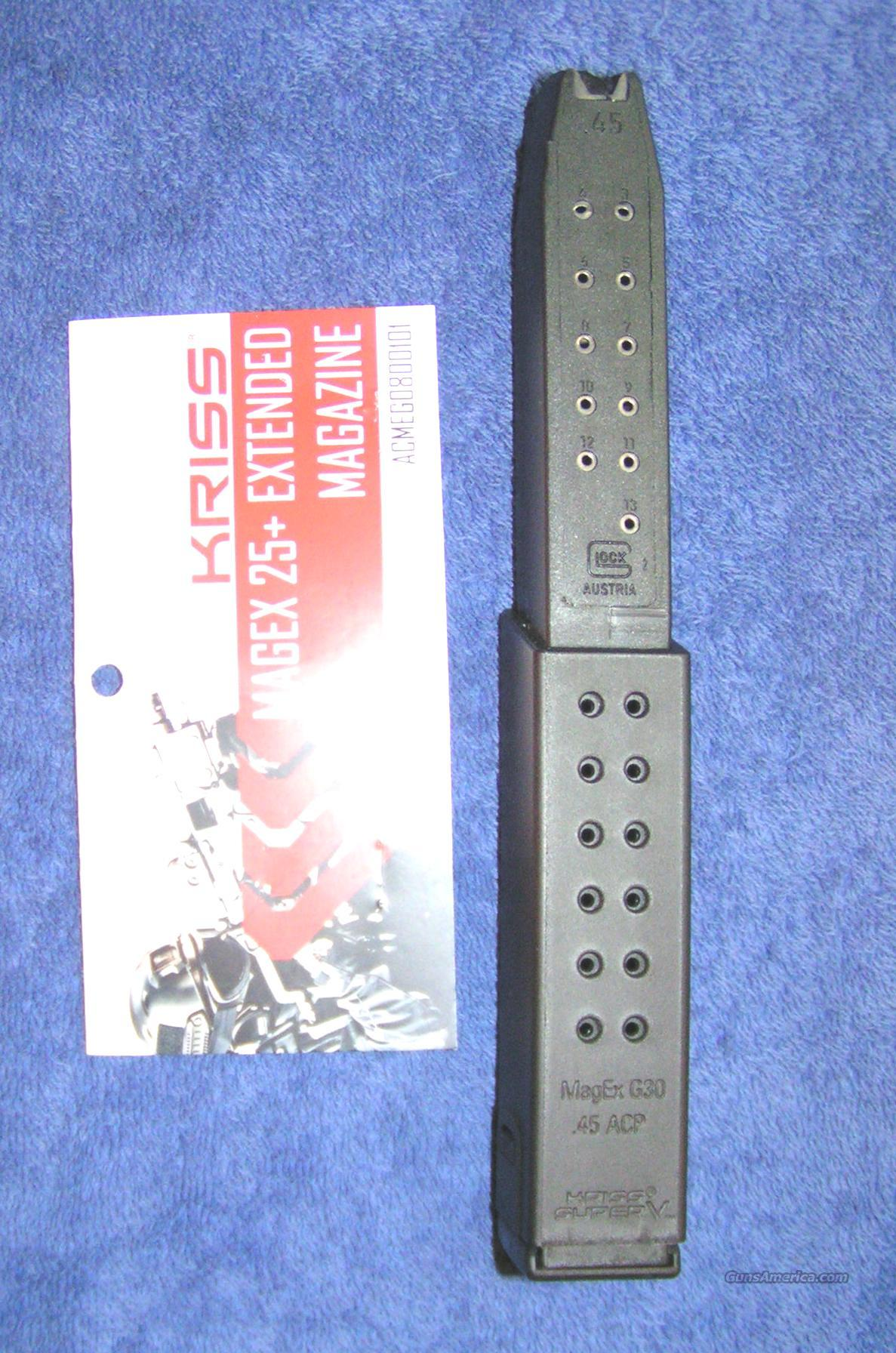 Glock 21 Glock 30 mag 45ACP  27rd / Kriss Vector NEW   Non-Guns > Magazines & Clips
