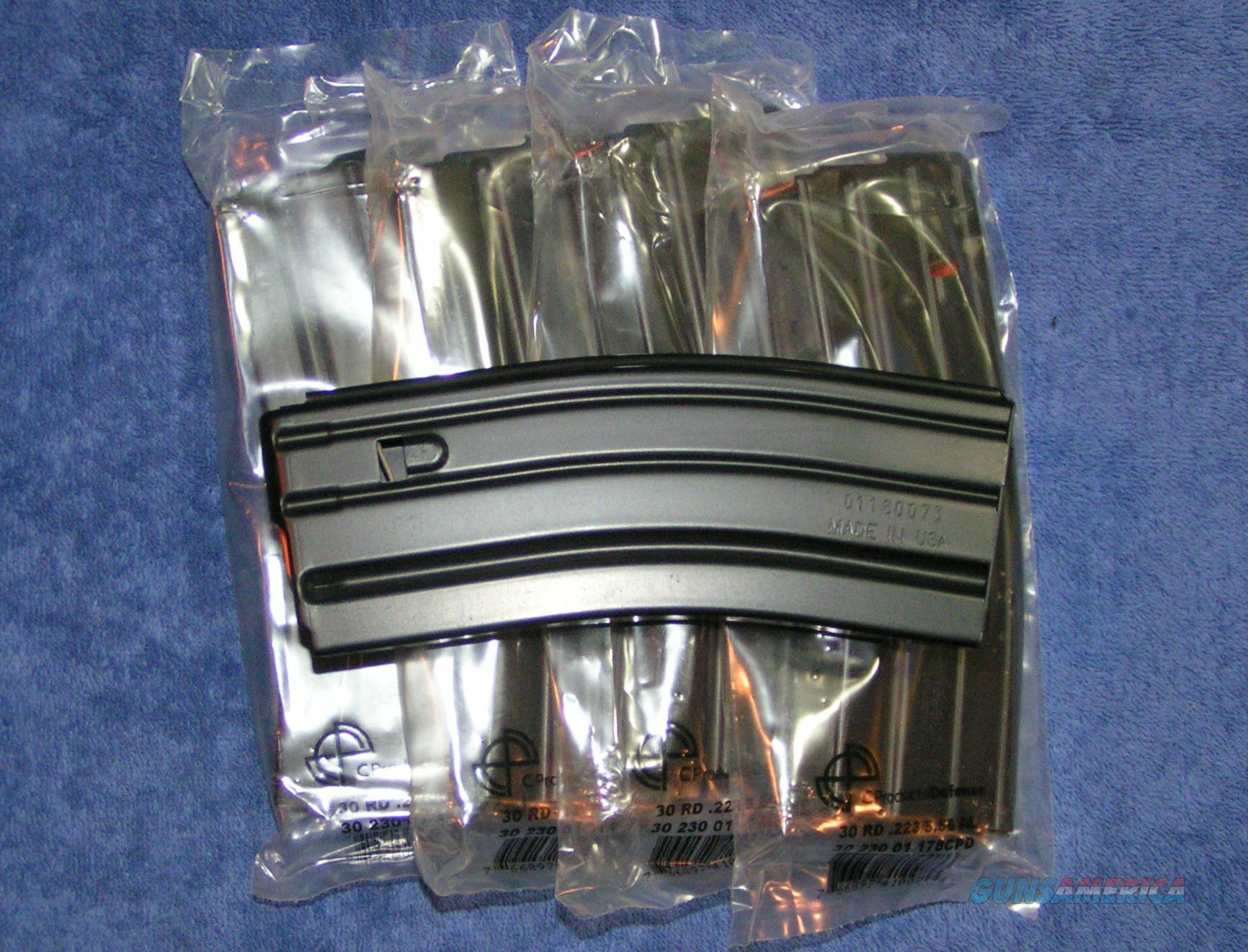 5 AR15 mags by C-Products. Alum body SS spring Free Shipping  Non-Guns > Magazines & Clips > Rifle Magazines > AR-15 Type