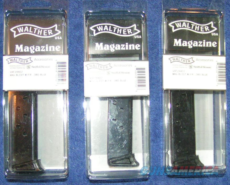3 Walther PPKS 380 mags factory 7 rd F. Rest New PPK/S  Non-Guns > Magazines & Clips > Pistol Magazines > Other