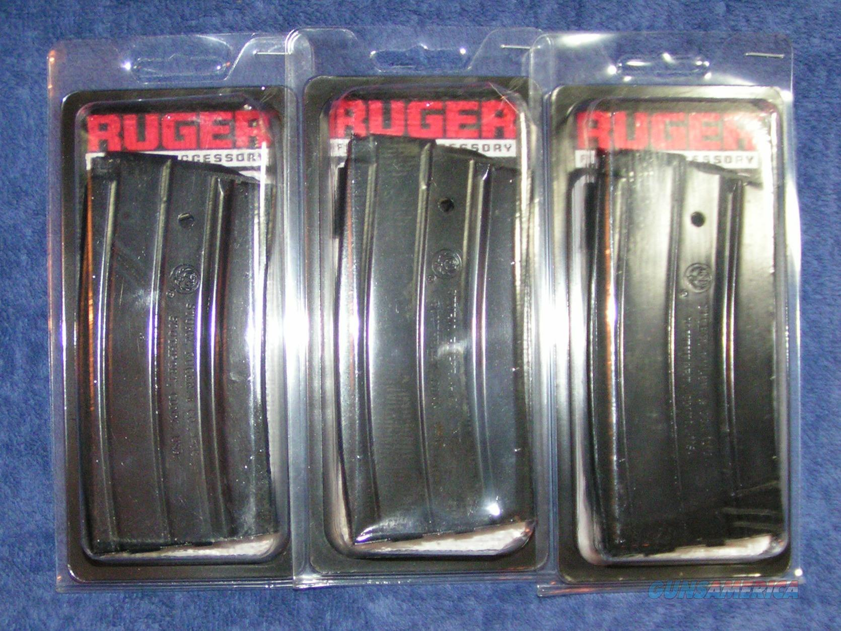 3 Ruger mini 14 mags factory 20 rd NEW Free shipping  Non-Guns > Magazines & Clips > Rifle Magazines > Mini 14