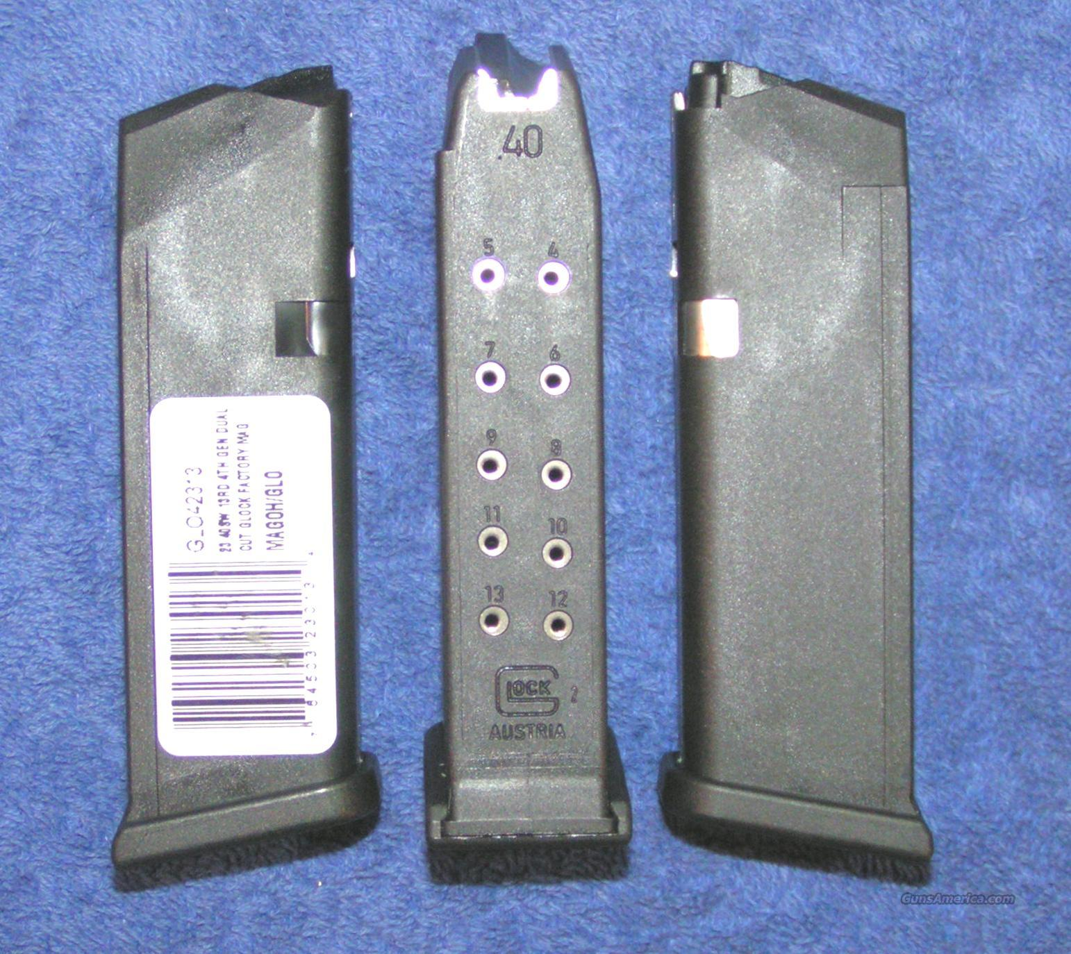 3 Glock 23 mags. NEW factory drop free $25 each Gen 4  Non-Guns > Magazines & Clips > Pistol Magazines > Glock