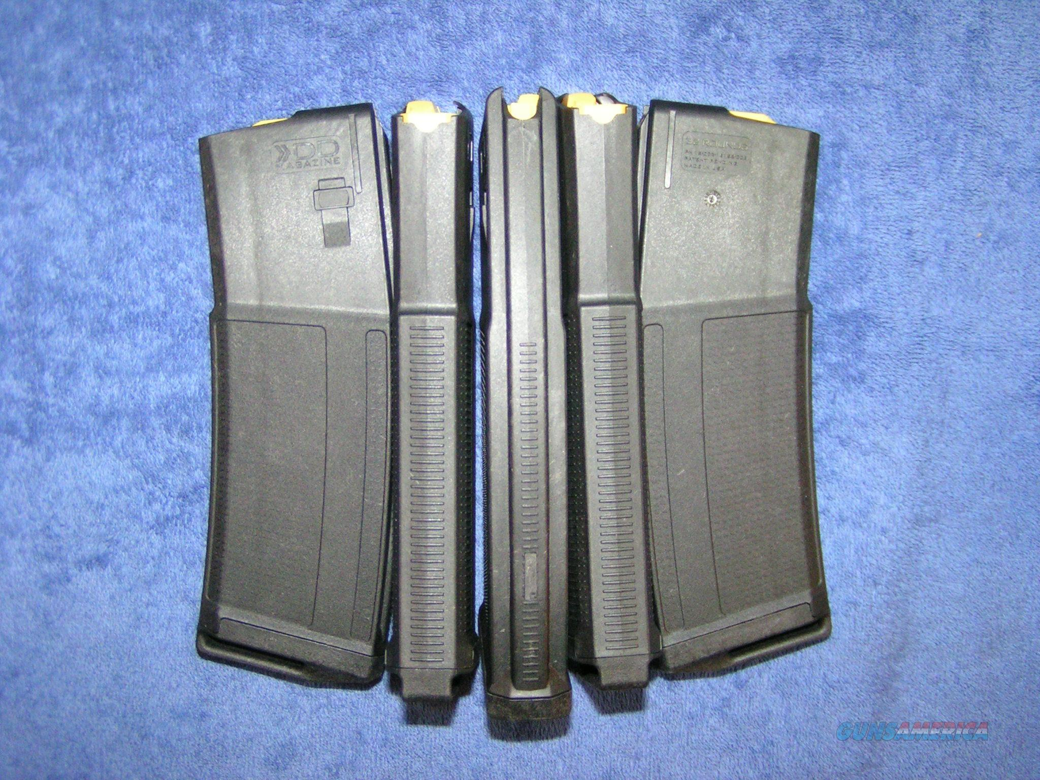 5 AR15 mags Daniel Defense 32 rd Free Ship   Non-Guns > Magazines & Clips > Rifle Magazines > AR-15 Type