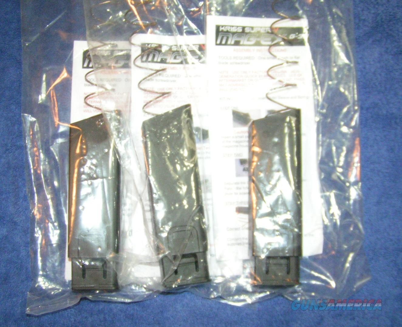 3 Glock 21 Kriss Vector Kits Free shipping. (no mags included)  Non-Guns > Magazines & Clips
