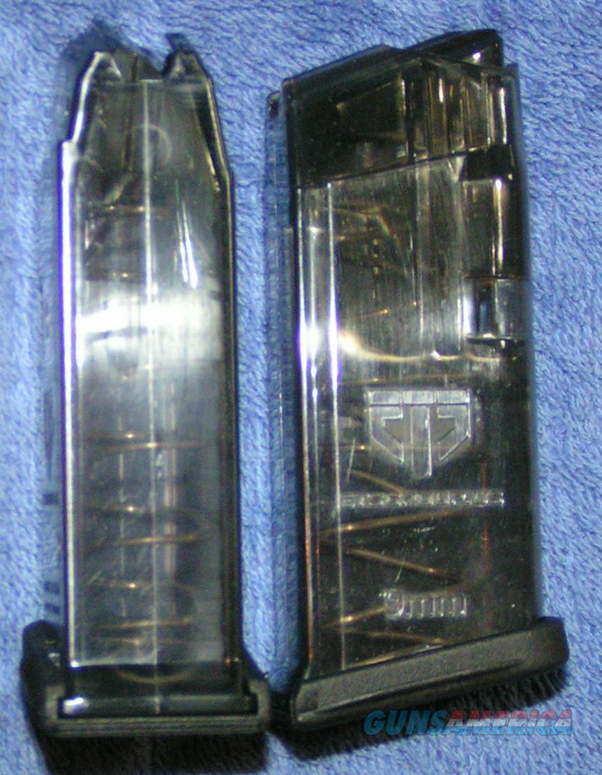 2 Glock 26 mags. New ETS 9mm 10 round $18 each  Non-Guns > Magazines & Clips > Pistol Magazines > Glock