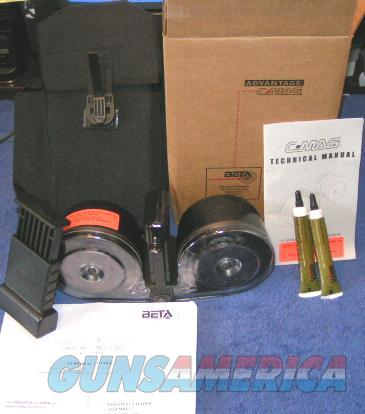 AR15 Beta drum kit.100rd New clear back Free Shipping  Non-Guns > Magazines & Clips > Rifle Magazines > AR-15 Type