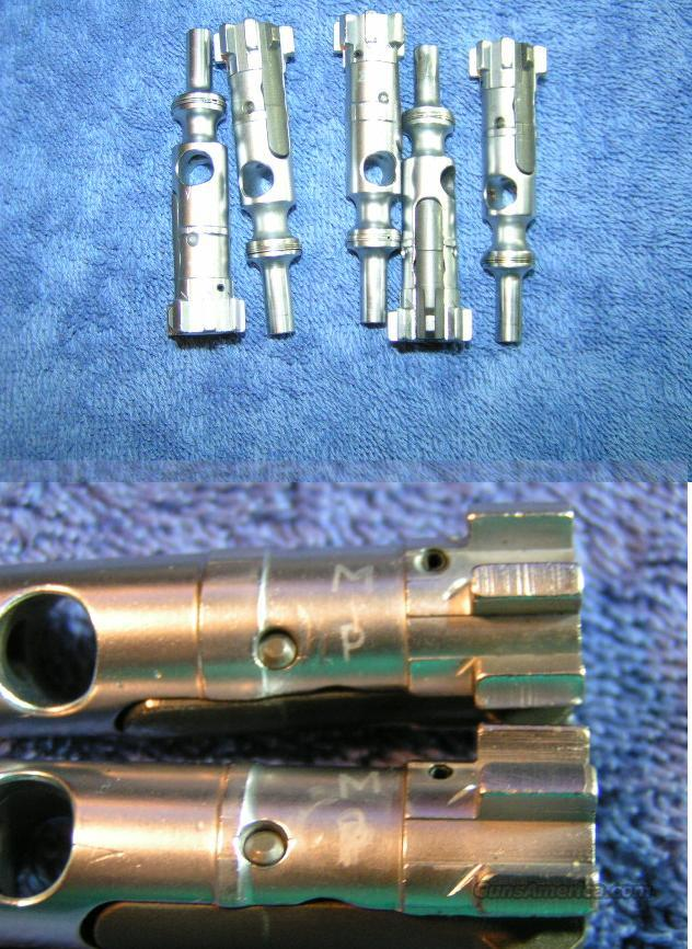 AR15 M16 chrome plated bolt assembly used MP Colt  Non-Guns > Gun Parts > M16-AR15