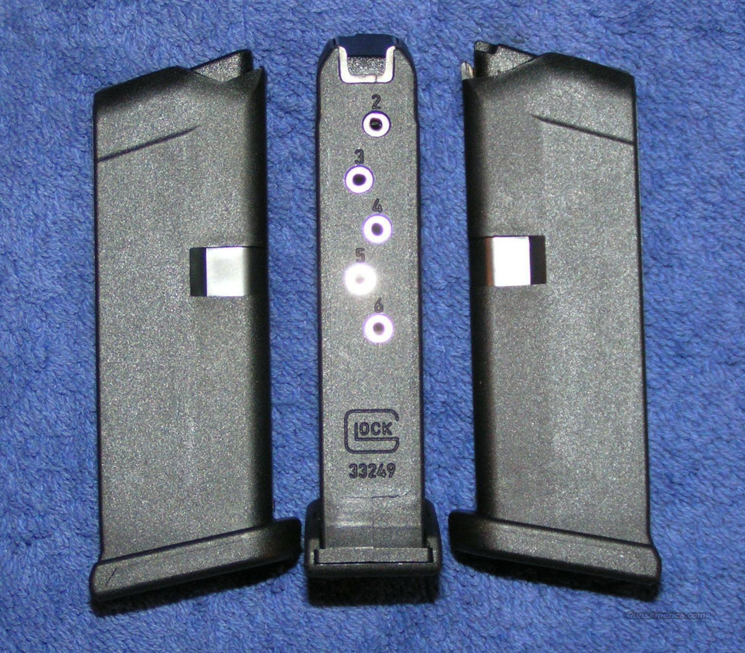 Glock 42 mag Holds 6 rounds of .380 new   Non-Guns > Magazines & Clips > Pistol Magazines > Glock