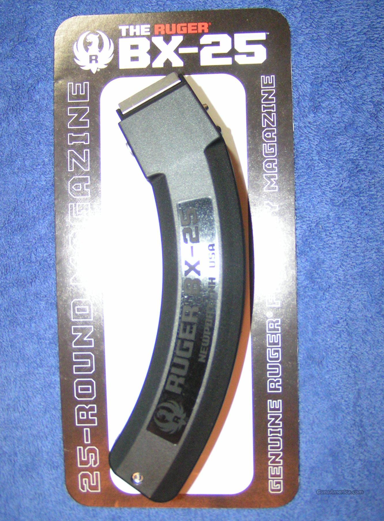 10/22 mag factory Ruger 25 rd BX-25 1022 $24   Non-Guns > Magazines & Clips > Rifle Magazines > 10/22