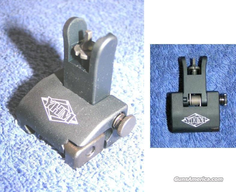 flip up front sight. NEW. QDS BUIS YHM-5030  Non-Guns > Gun Parts > M16-AR15