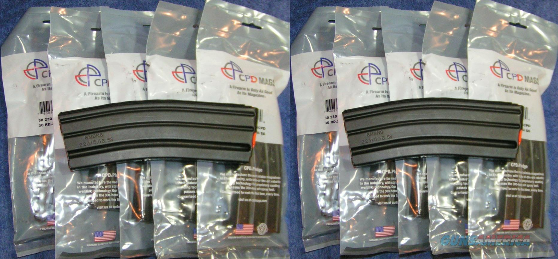 10 AR15 mags 30rd Stainless C-Products. Free Ship  Non-Guns > Magazines & Clips > Rifle Magazines > AR-15 Type