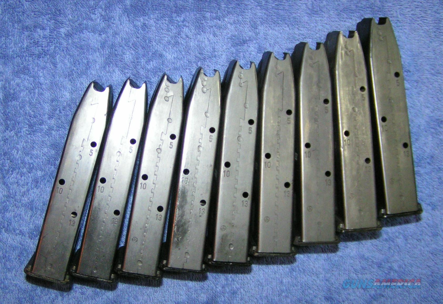 3 Sig P228 mags 13 round 228 German zipper seam Free shipping  Non-Guns > Magazines & Clips > Pistol Magazines > Sig