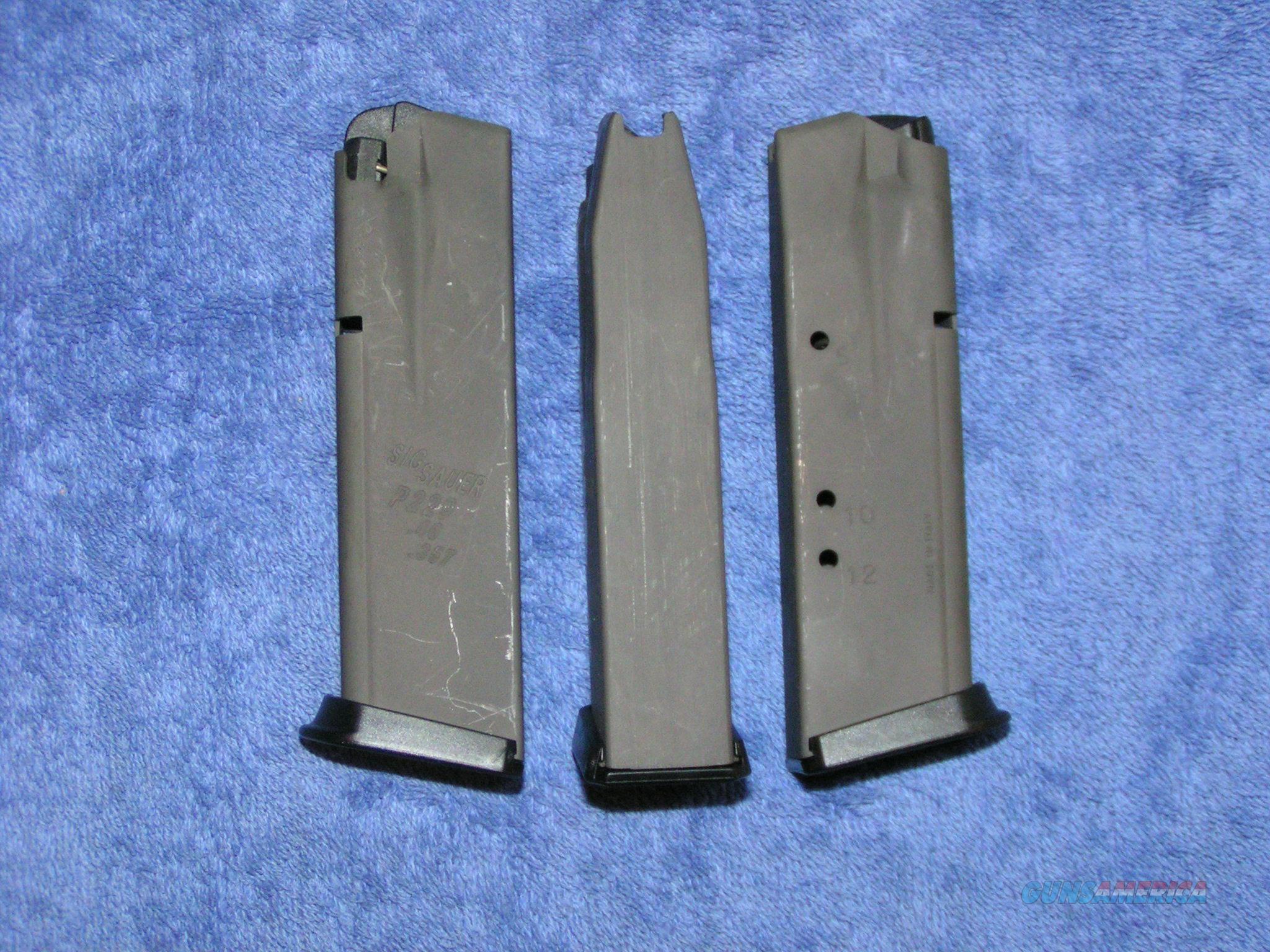 Sig P229 mag 12 round Sig new factory magazine .40/.357 $55 Free shipping  Non-Guns > Magazines & Clips > Pistol Magazines > Sig