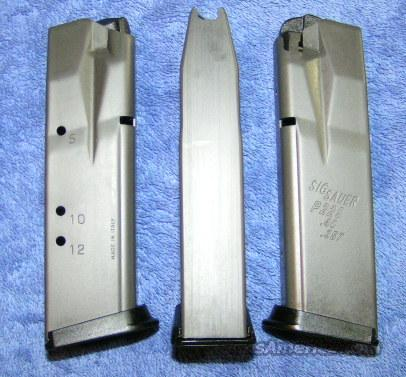 3 Sig P229 mags 12 round extreme duty Sig $69 ea  Non-Guns > Magazines & Clips > Pistol Magazines > Sig
