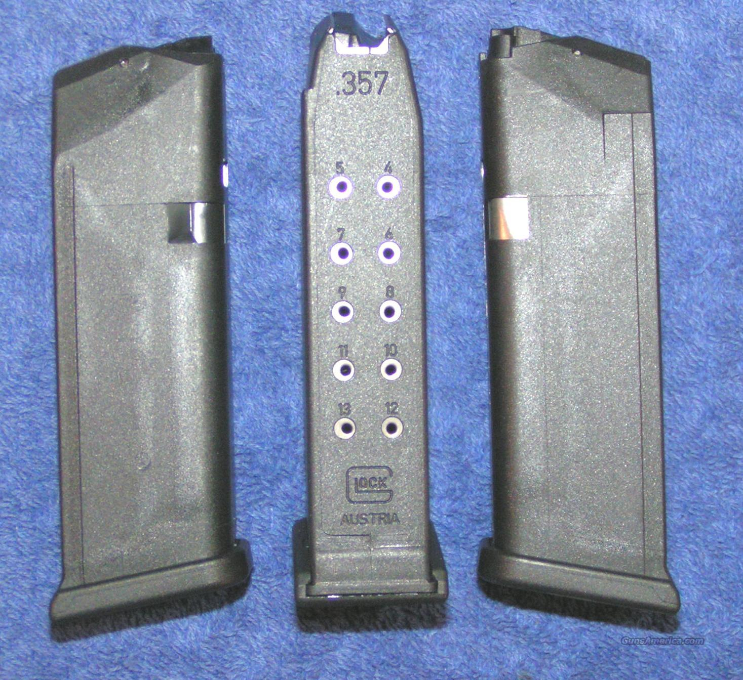 3 Glock 32 mag 13 round 357SIG new 4th Gen. $25 each  Non-Guns > Magazines & Clips > Pistol Magazines > Glock