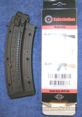 GSG AK-47 mag 24 round NEW GSG-AK47 22LR  Non-Guns > Magazines & Clips > Rifle Magazines > Other