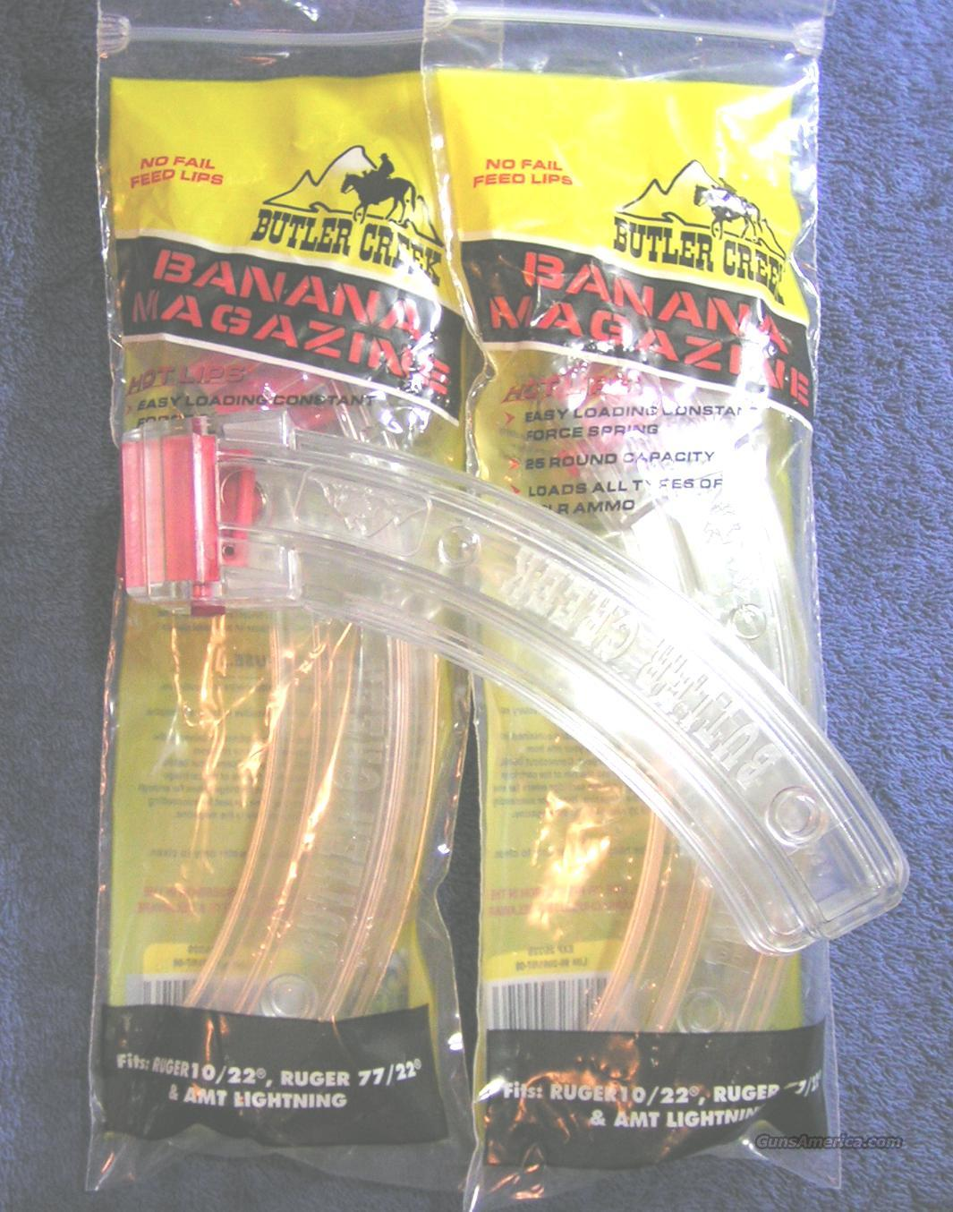 3 10/22 mags Butler Creek Hot Lips 25 rd $14 ea.  Non-Guns > Magazines & Clips > Rifle Magazines > Other