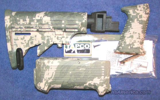 AK47 fusion stock system  Camouflaged  Non-Guns > Gun Parts > Military - Foreign
