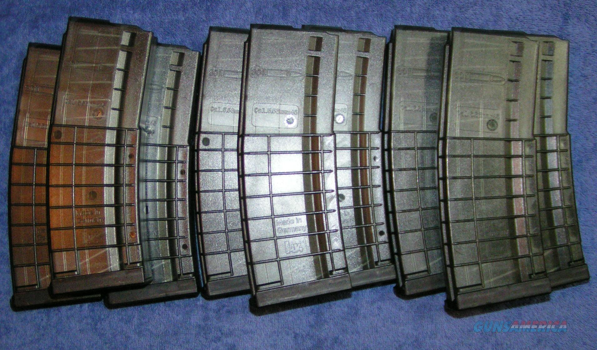 10 AR15 mags H&K HK 30 round polymer. NEW $19 each  Non-Guns > Magazines & Clips > Rifle Magazines > AR-15 Type