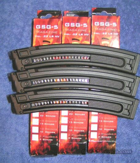 GSG-5 mag 15 round NEW in box   Non-Guns > Magazines & Clips > Pistol Magazines > Other