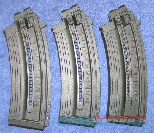 3 GSG AK-47 mags 24 round NEW GSG-AK47 22LR  Non-Guns > Magazines & Clips > Rifle Magazines > Other