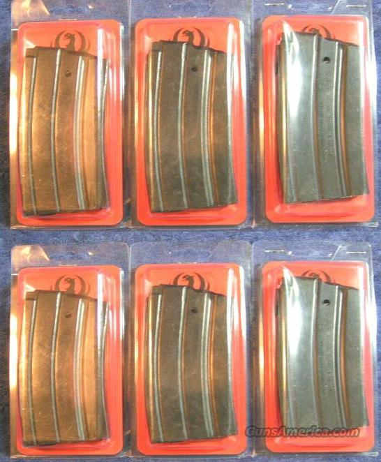 6 Ruger mini 14 mags factory 20 round NEW $28 each  Non-Guns > Magazines & Clips > Rifle Magazines > Mini 14
