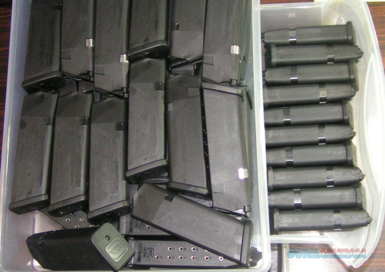 3 Glock mags 17 19 21 22 23 26 27 42 your choice  Non-Guns > Magazines & Clips > Pistol Magazines > Glock