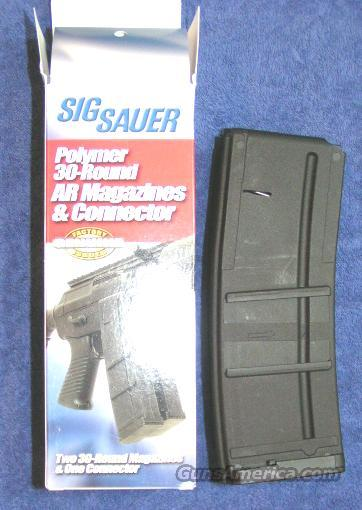 AR15 30 round mags by SIG (2) w coupler new $17.50 per mag   Non-Guns > Magazines & Clips > Rifle Magazines > AR-15 Type